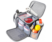 FITMARK THE SHIELD BOLSO ORGANIZADOR DE COMIDAS RED