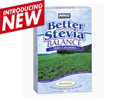 NOW BETTER STEVIA BALANCE ENDULZANTE NATURAL ORGANICO 100 PACKET